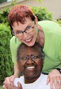 Vernita Gray and Pat Ewert